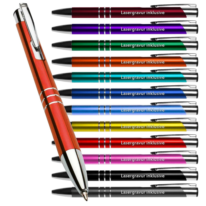 50 Stück Metall Metall Metall Kugelschreiber KING farbig gemischt mit Gravur Lasergravur alle gleiche Gravur B07N5MW581 | Züchtungen Eingeführt Werden Eine Nach Der Anderen  b53992