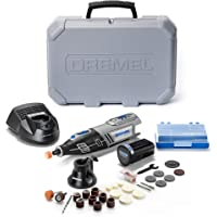 Dremel 8220 1/28 Cordless Lithium Ion Rotary tool kit (10.8V /12V Max,variable speed, Includes: 1 attachment,28 Accessories for carving ,engraving ,glass etching, cutting, cleaning, grinding and polishing)