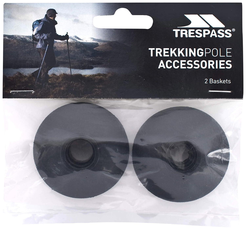 Trespass- Rosetas para bastones de trekking Modelo Transplus(pack de 2)