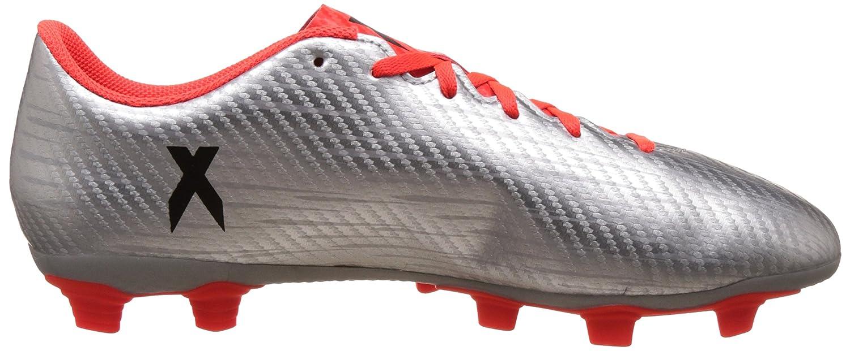adidas X 16.2 FG, Chaussures de Foot Homme, Plateado (Plamet/Negbas/Rojsol), 42 EU