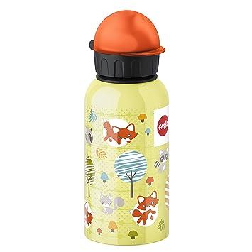 Emsa 514397 Botella de niños, 400 ml, cierre de seguridad, 100% resistente al
