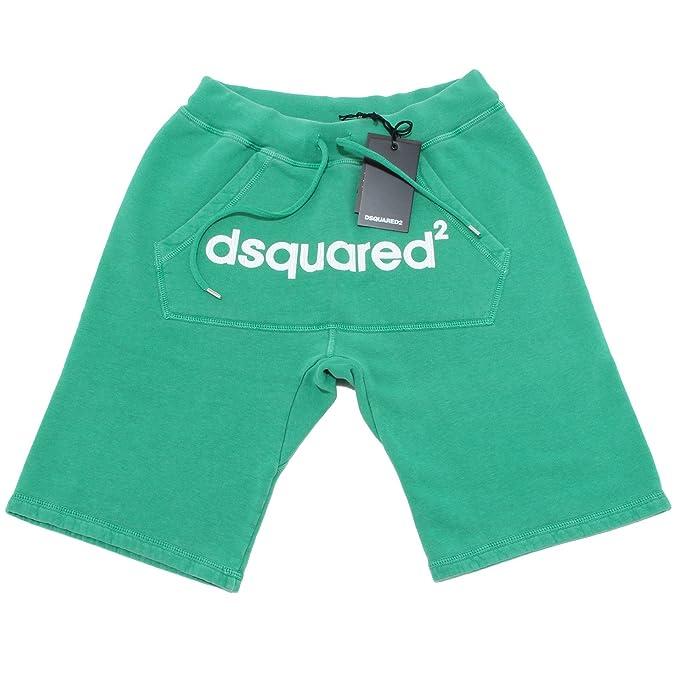 brand new 7fe23 0389e DSQUARED 2263L bermuda tuta uomo D2 pantaloni trousers pants ...