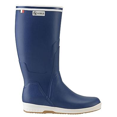 3eda54d5e649d5 Aigle FREGATE Blau - Bootsstiefel Gemischt  Amazon.de  Schuhe ...