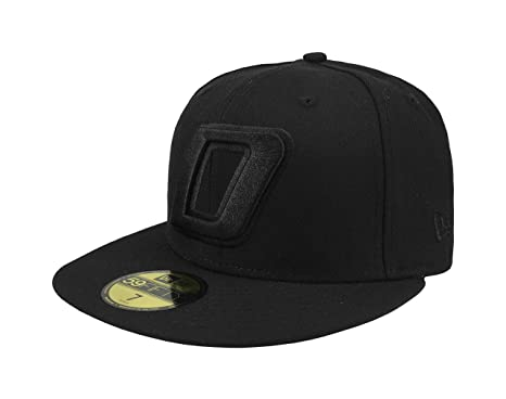 "New Era 59Fifty Hat Dorados de Sinaloa Soccer ""D"" Liga Mexicana Black Fitted"
