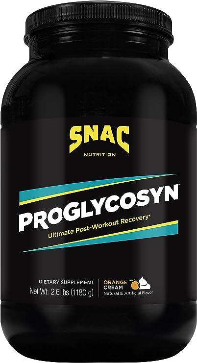 SNAC Proglycosyn Ultimate Post Workout Recovery Formula, Orange Cream, 2.6 Pounds