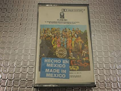 Sgt  Peppers Lonely Hearts Club Band [Cassette, Mexico Import]
