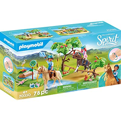 PLAYMOBIL Spirit Riding Free River Challenge: Toys & Games