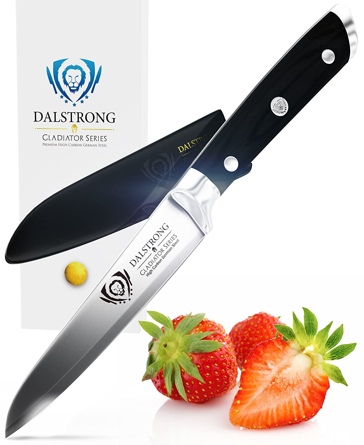 amazon com dalstrong paring knife gladiator series paring knife