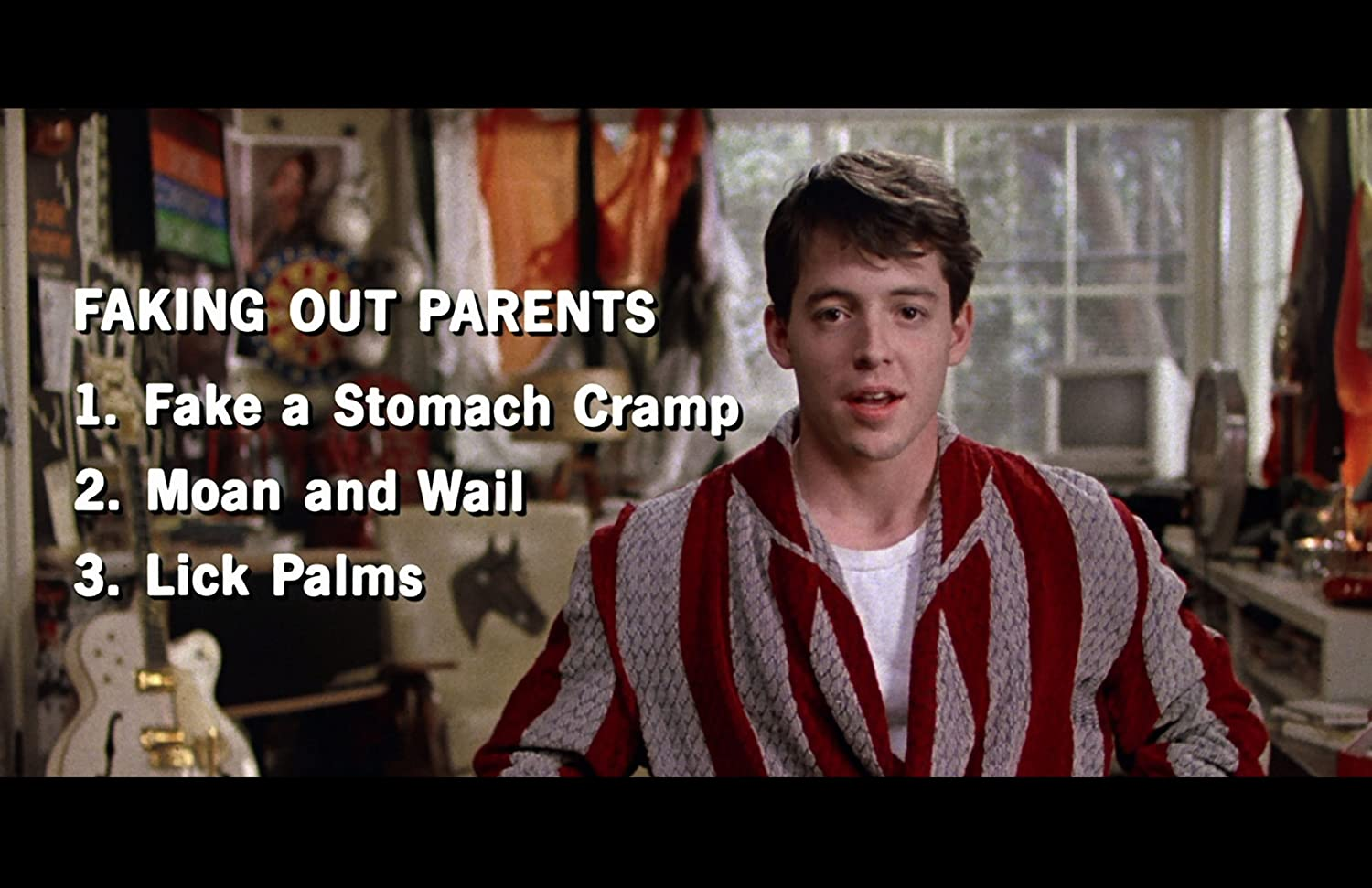Ferris Buellers Day Off Movie