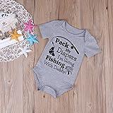 Opperiaya Infant Baby Boy Girl Romper Jumpsuit