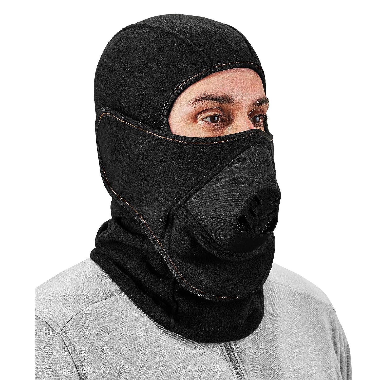 Balaclava with Detachable Heat Exchanger Face Mask, Winter Ski Mask, Ergodyne N-Ferno 6970