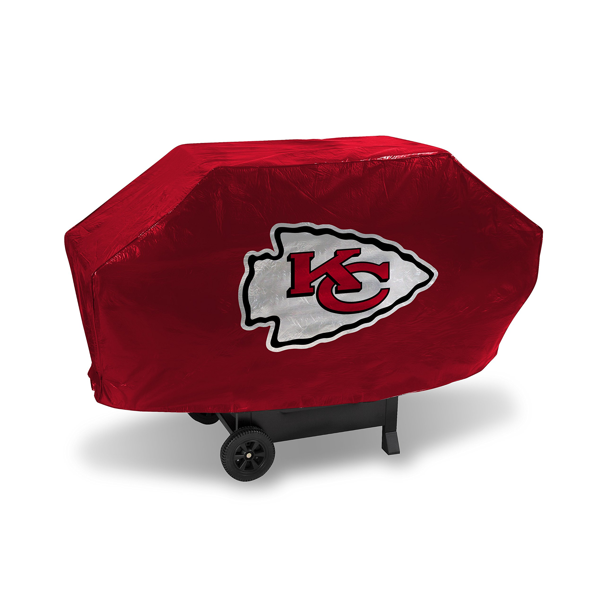 Rico Industries NFL Kansas City Chiefs Vinyl Padded Deluxe Grill Cover