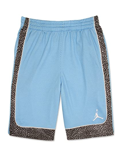 80141e058eb5 Jordan Nike Boys  Elephants Print Dri-Fit Basketball Shorts  Amazon ...