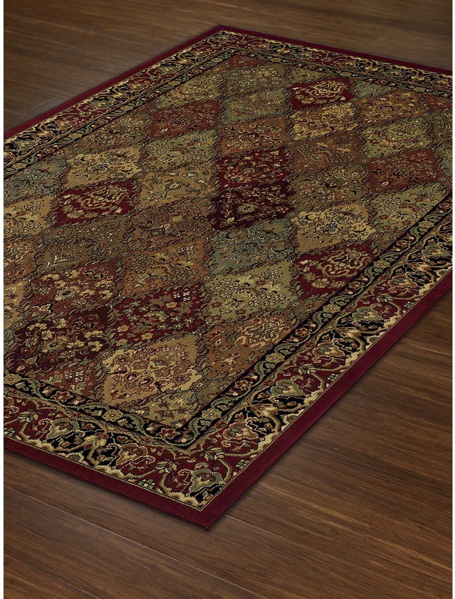Dalyn Rugs Wembley WB38 Rug, 8 x 10 , Red