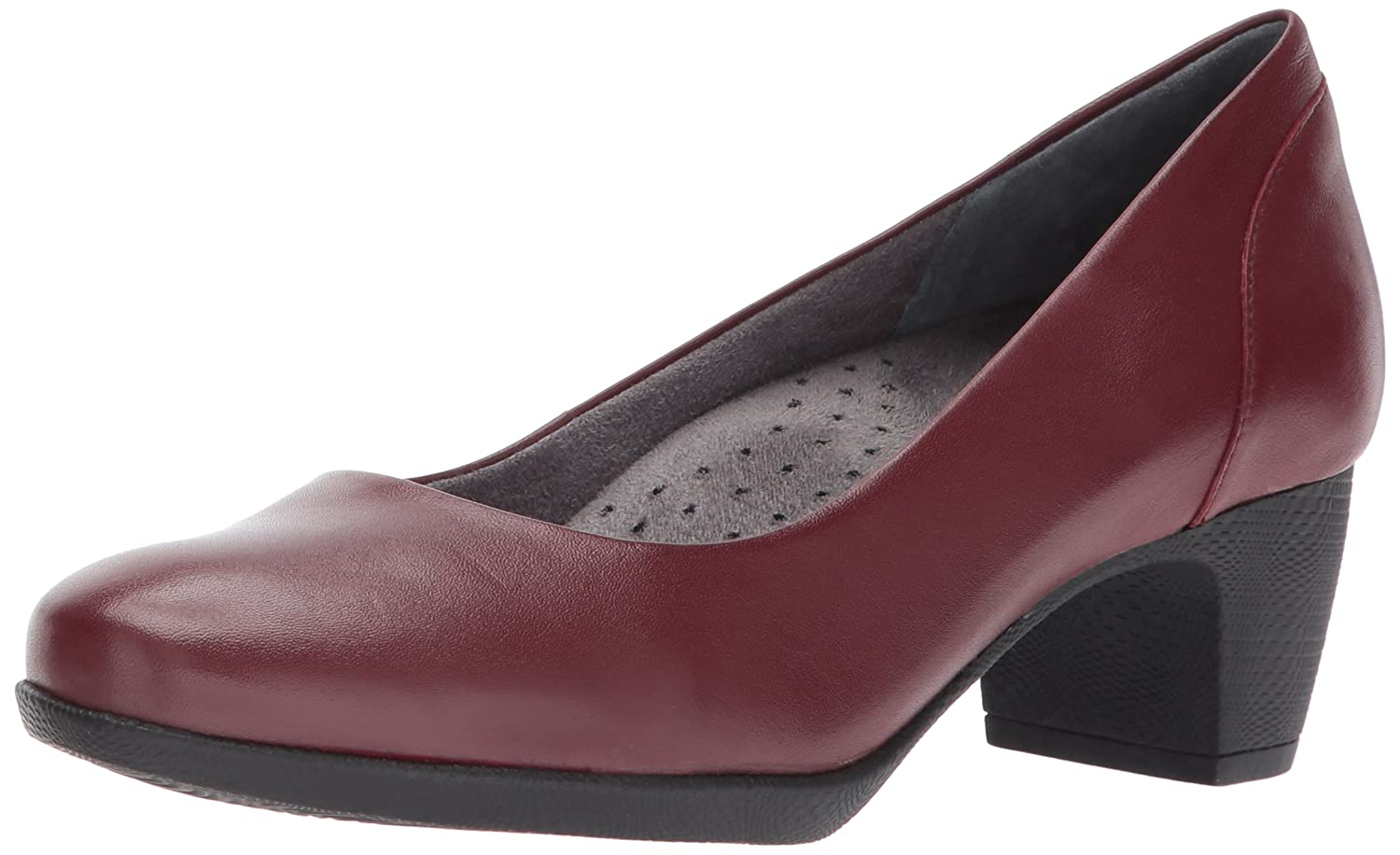 SoftWalk Women's Imperial Ii Dress Pump B01NALL21T 8 W US|Dark Red