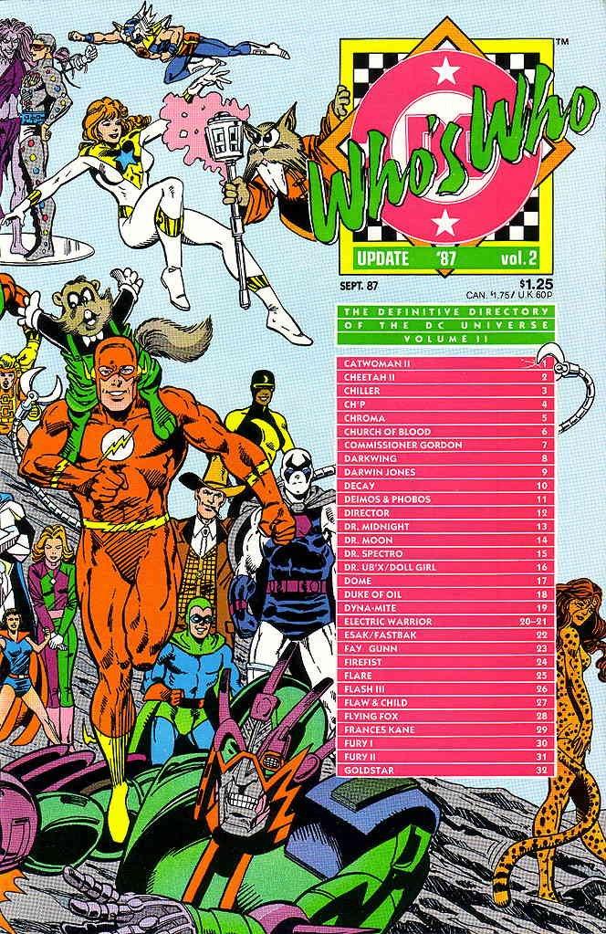 Who's Who Update '87 #2: DC: Amazon com: Books