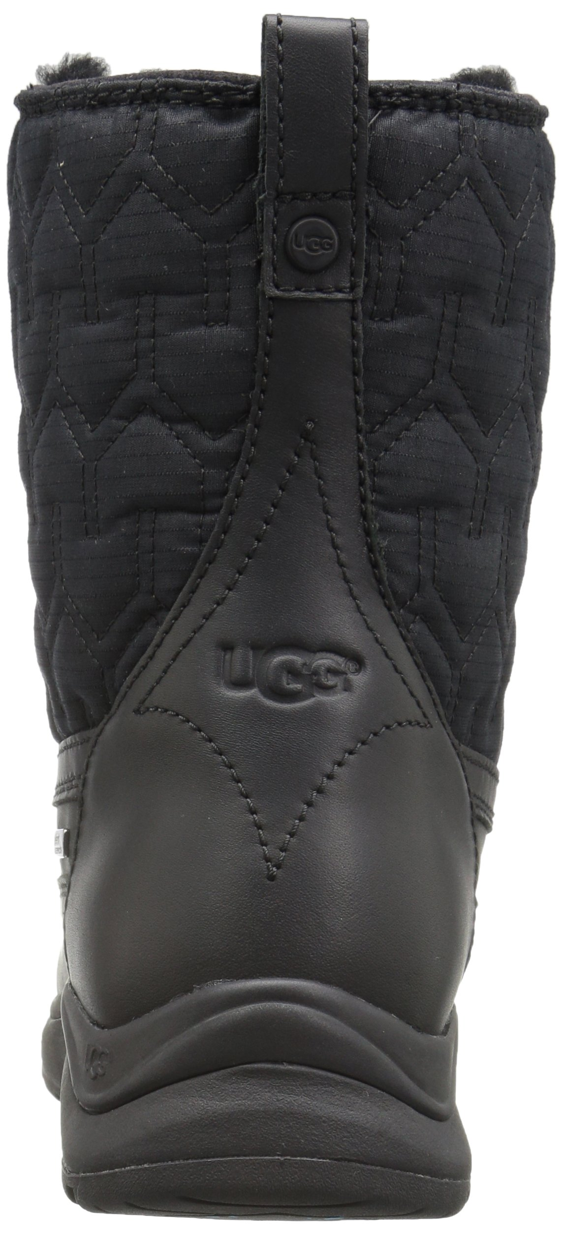 UGG Women's Lachlan Winter Boot, Black, 8 M US by UGG (Image #2)