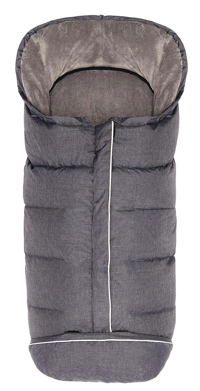 Fillikid Winterfußsack Fußsack Kibo Mit Daunenfüllung Grau Melange 8480 97 Baby
