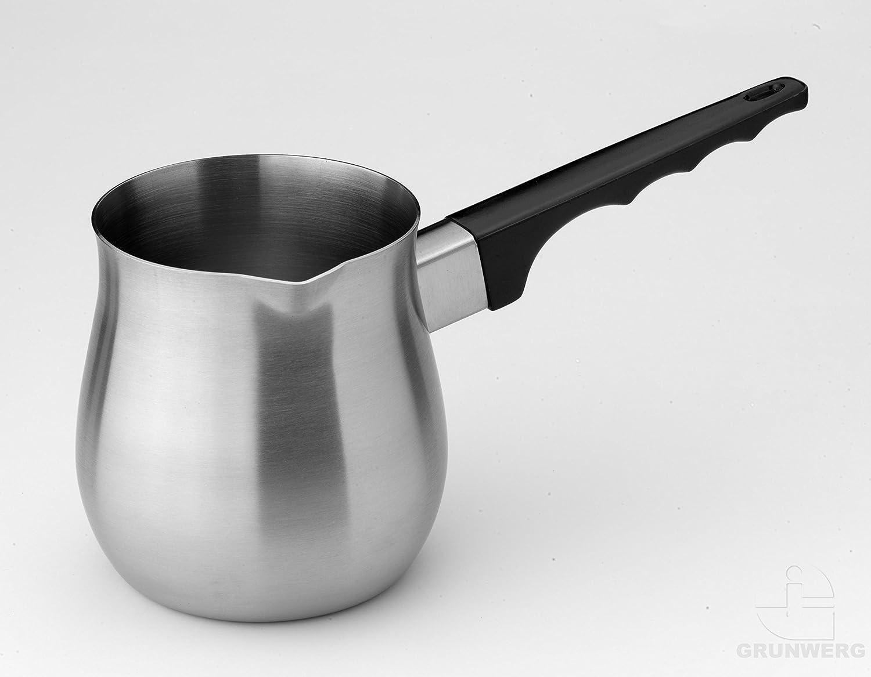 Grunwerg Turkish Coffee Pot 6oz Stainless Steel S8059/06