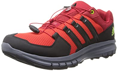 half off 9257b 478e1 Adidas M18950 Men s Dark Orange Black Semi Solar Slime Duramo Cross X Shoes,