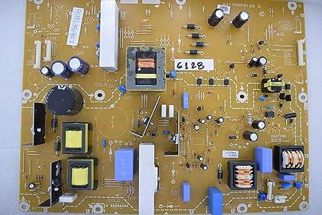 Phillips 55PFL3907/F7 BA17P5F01 03 3 A17RFMPW 7218391 Placa de Fuente de alimentación 6128: Amazon.es: Electrónica