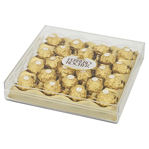 Ferrero Rocher - 24 Chocolates Box - 300g: Amazon.es: Alimentación y bebidas