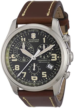 Image Unavailable. Image not available for. Color  Victorinox Swiss Army  Men s 241287 Infantry Vintage Stainless Steel Watch ... 06d2e748cf