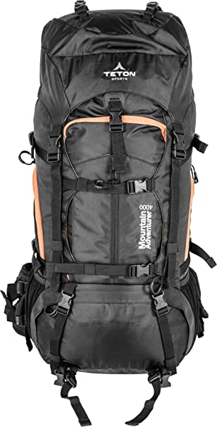 Amazon.com : TETON Sports Mountain Adventurer 4000 Backpack ...