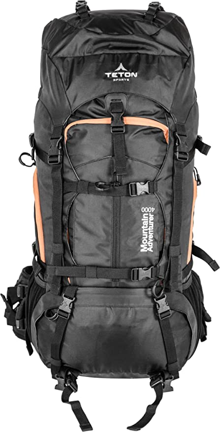 TETON Sports Mountain Adventurer 4000 Backpack  Lightweight Hiking Backpack  for Camping ebce5ce55a2be