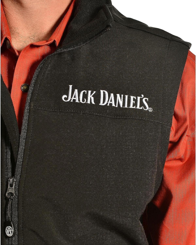Jack Daniels Mens Daniels Old No 7 Softshell Vest 080A94