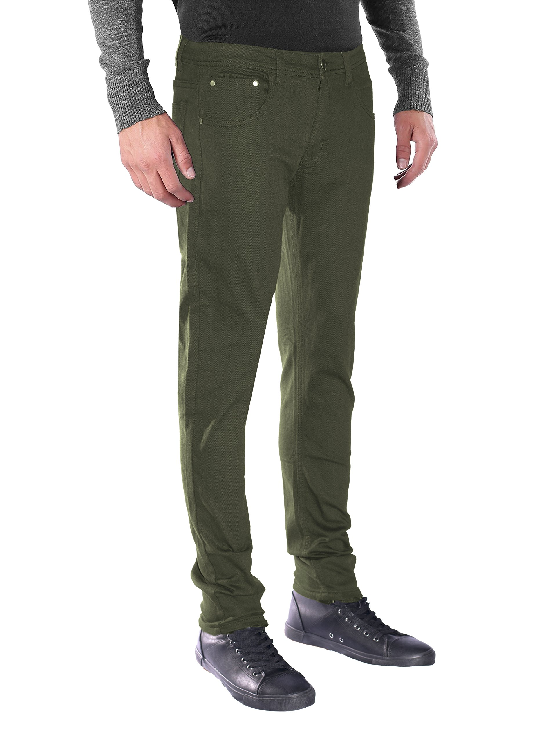 Seven Souls Skinny Stretch Twill product image