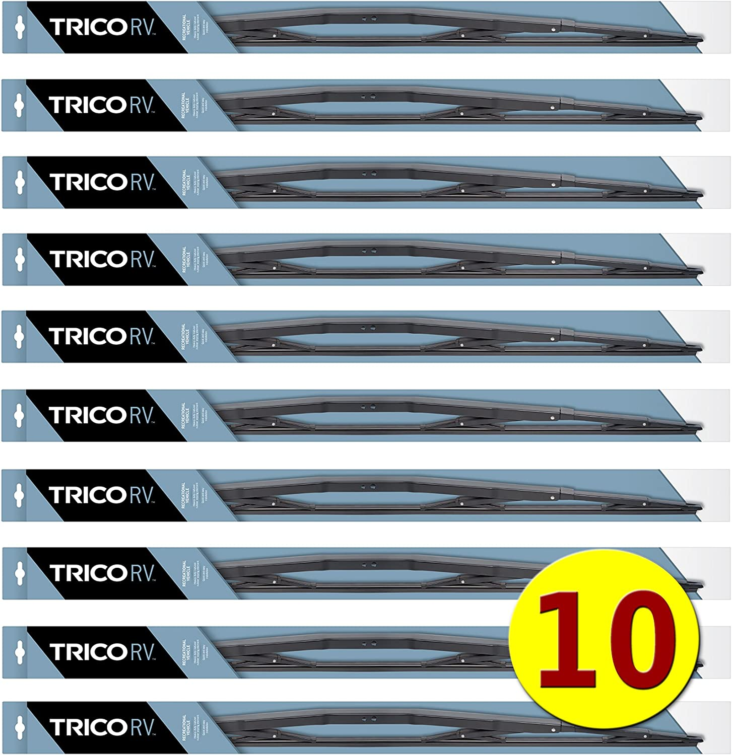 """for RV, Bus /& Commercial Truck 22/"""" Vented HD Wiper 2xTRICO 67-221 Wiper Blade"""