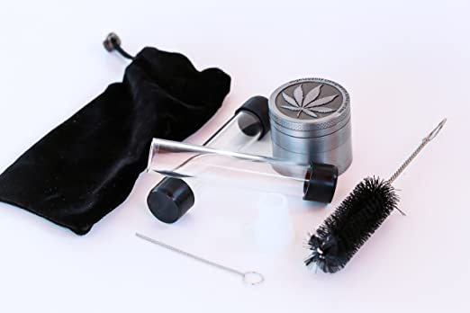 Amazon.com: Twisty Glass Blunt Accessory Kit, Full Spare Part Kit with Herb Grinder, Spare Tubes, Cleaning Accessories, Carrying Case, Complete Twisty Glass ...