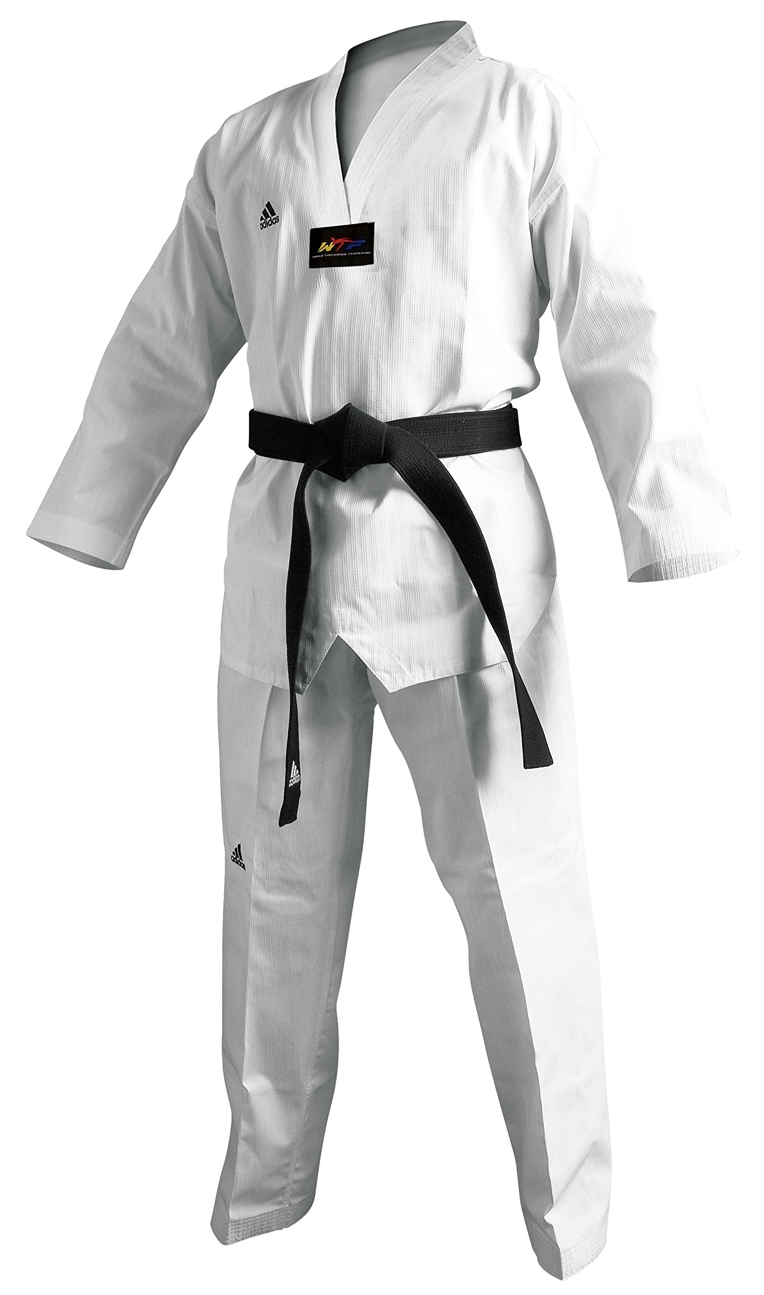 Adidas Champion II White Taekwondo Uniforms (2) by adidas