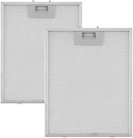 Klarstein Sabia filtro anti grasa aluminio reemplazo accesorio campana extractora 23,8 x 31,8 cm: Amazon.es: Hogar