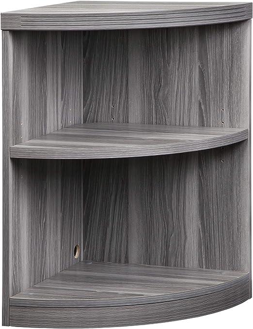 Amazon.com: Mayline Aberdeen Quarter Round Corner Bookcase, 2
