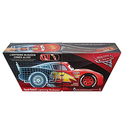Amazon Com Disney Cars Pixar Cars 3 Tech Touch Lightning Mcqueen