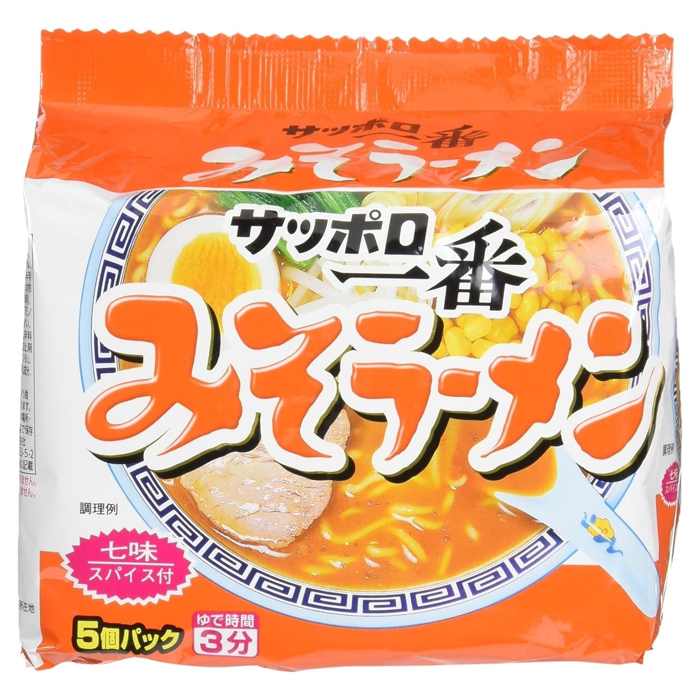 Sanyo Foods Sapporo Ichiban Miso Ramen 5 Servings