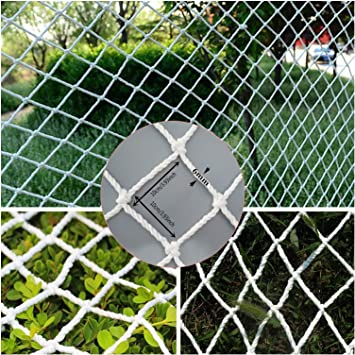 Netting Decor Mesh JHKJ Safety Nets Outdoor Balcony and Stairway Deck Rail Safety Net and Deck Netting for Pets and Children Safety Net Fence