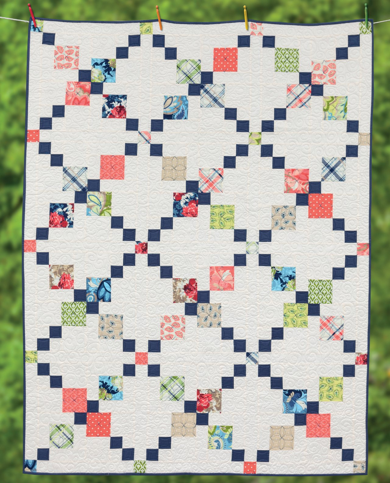 Irish Chain Quilt Pattern Best Inspiration