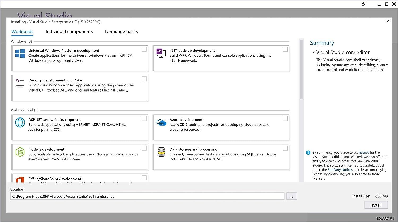 Microsoft Visual Studio 2017 Profesional (Suscripción Anual): Amazon.es: Software
