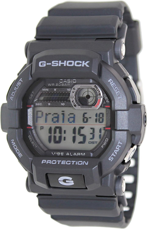 Casio Men s GD350-1D G Shock Black RED Watch
