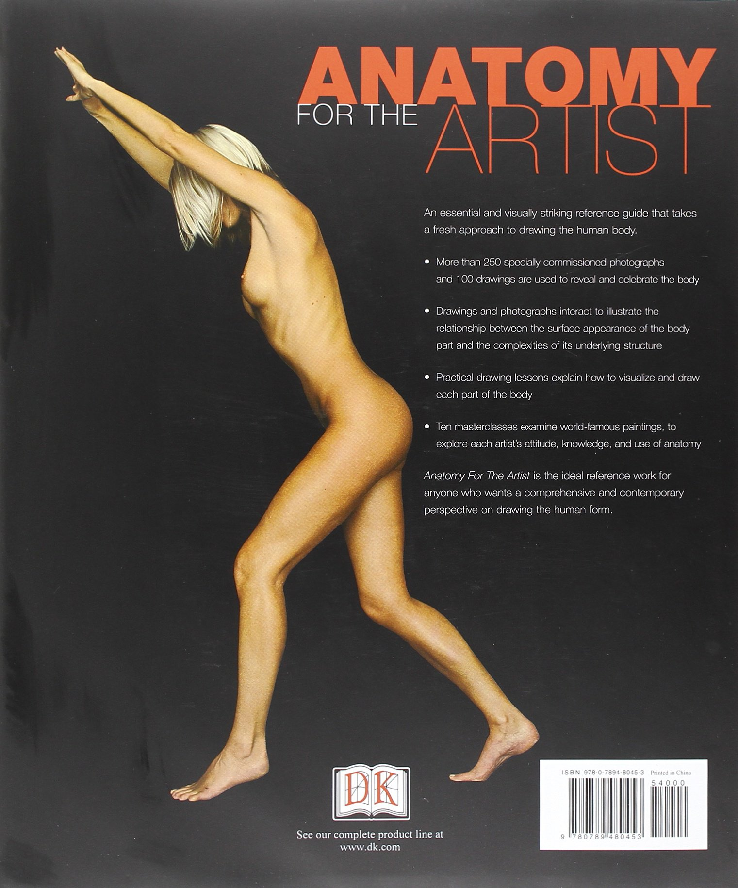 Anatomy For The Artist Sarah Simblet John Davis 8601410866938