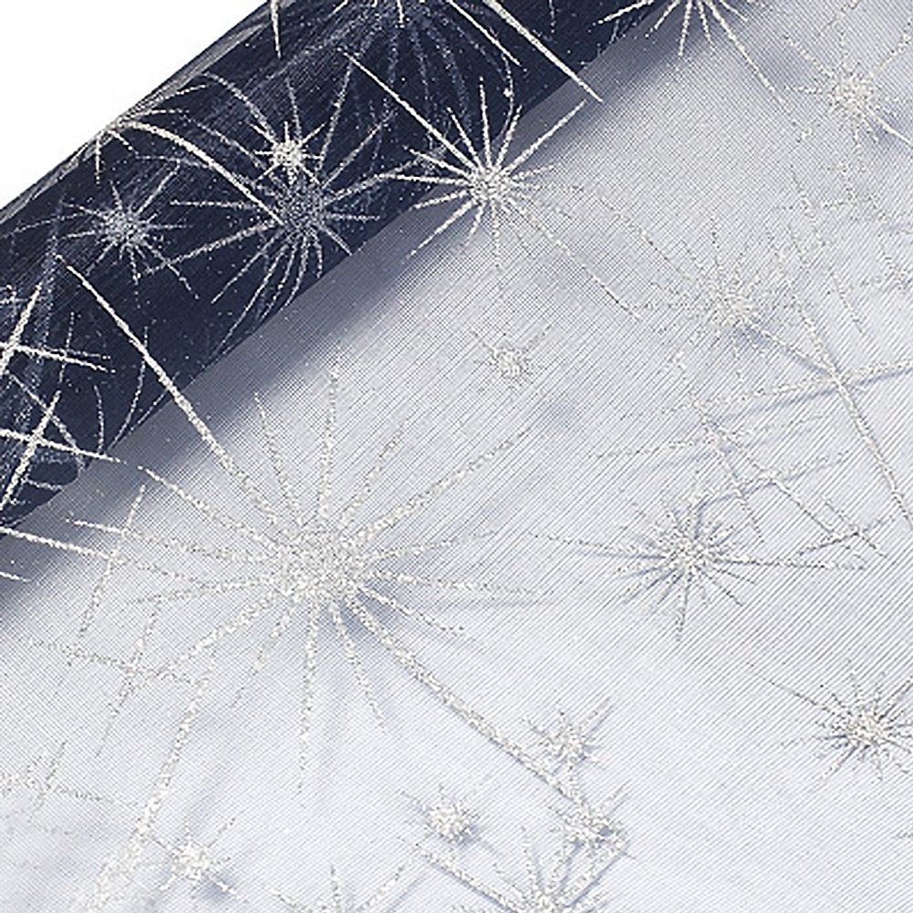 Starry Sky Gauze Flower Wrapping Paper Floral Bouquet Wraps DIY Gift Packaging Supplies