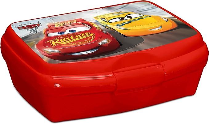 Caja de almuerzo Cars Disney – Merienda niños escuela vuelta al cole – 181: Amazon.es: Electrónica