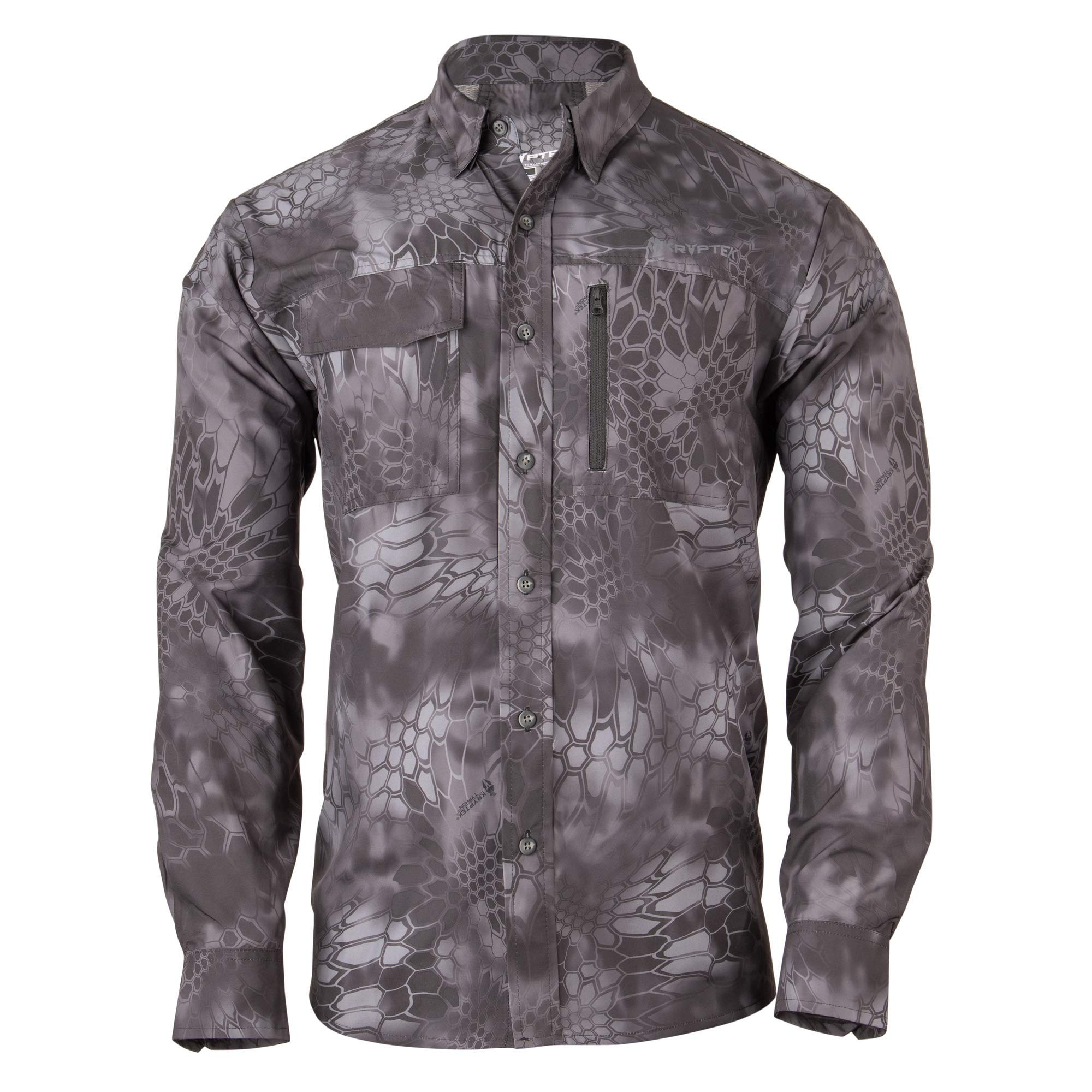 Kryptek Adventure 3 Long Sleeve Camo Hunting Shirt (Valhalla Collection), Typhon, XL by Kryptek