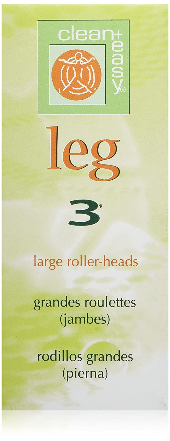 Clean + Easy Clean+ Leg - Large Roller Heads 3 Piece Clean+ Easy
