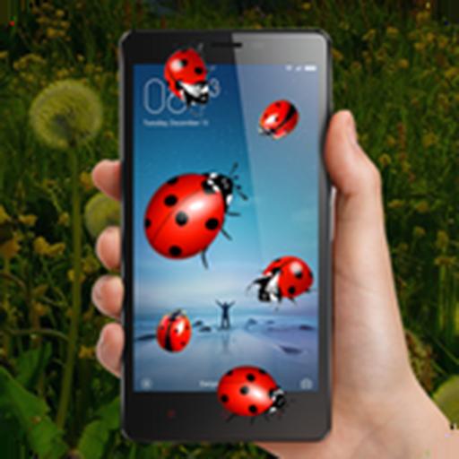 Ladybug On Screen Prank - Scary Ladybugs in Phone -