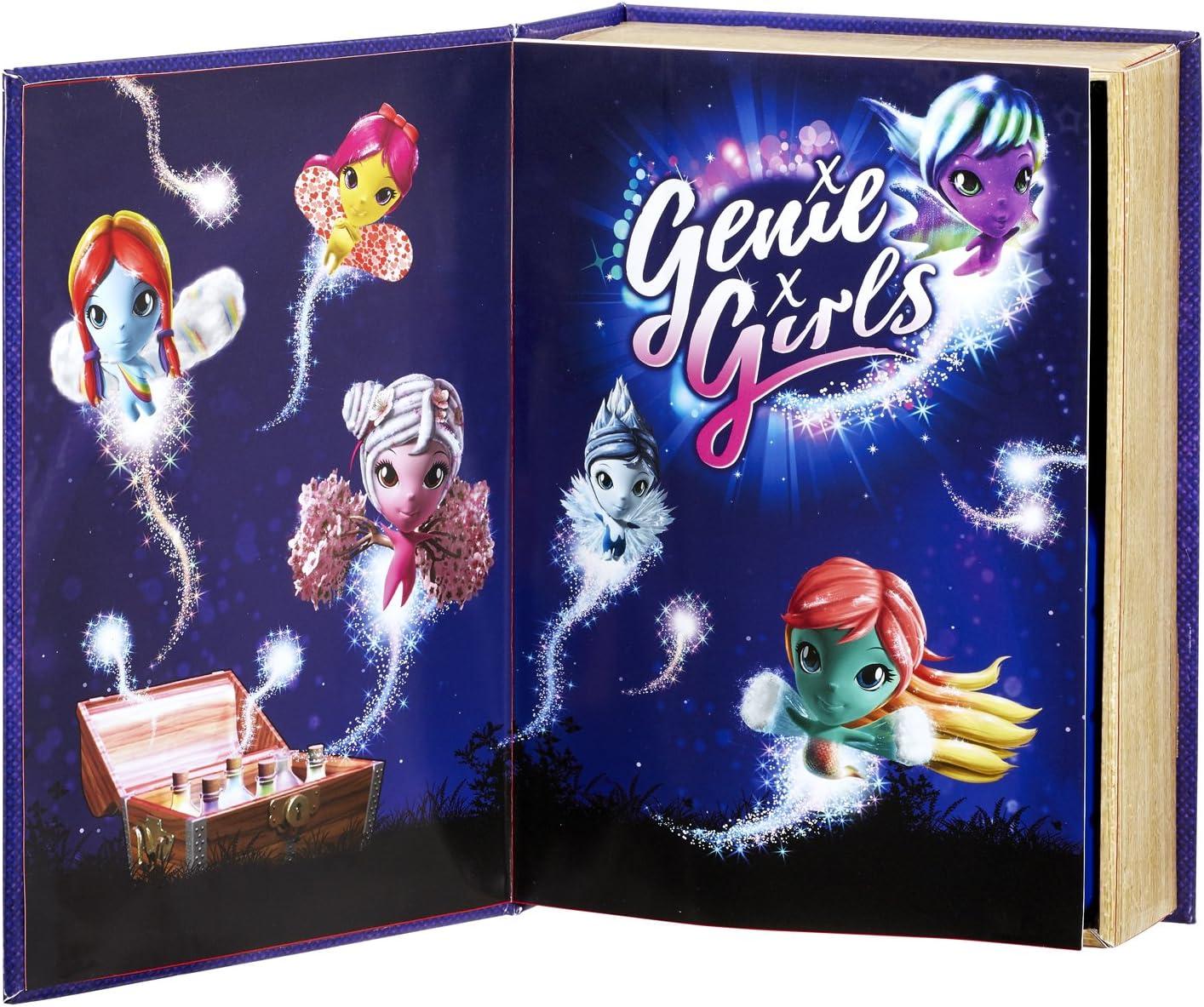 Genie Girls Libro de los Deseos de Las ni/ñas Genio