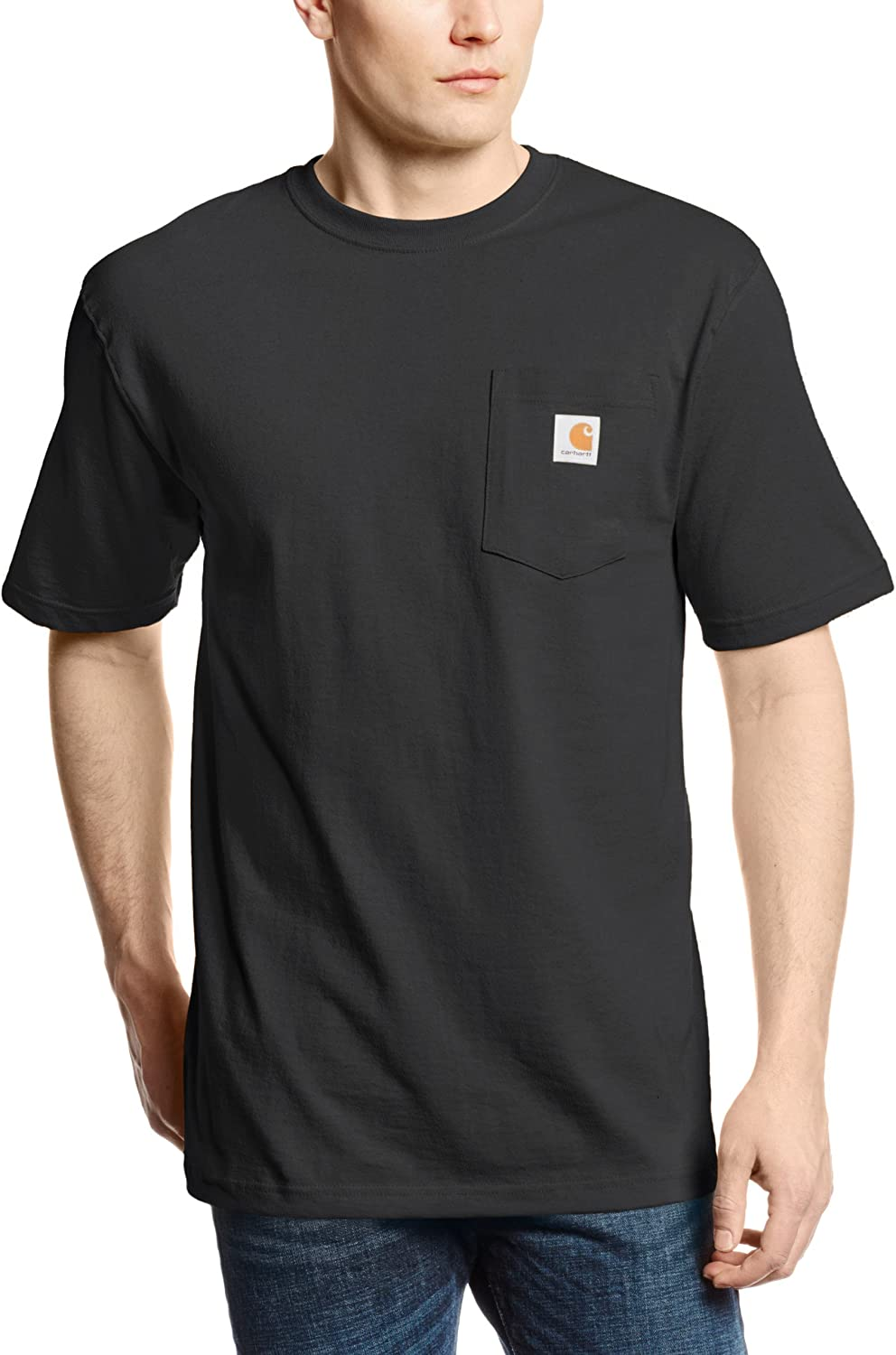 Carhartt Men's K87 Workwear Pocket Short Sleeve T-Shirt (Regular and Big & Tall Sizes) |